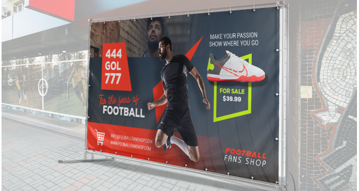 14oz Vinyl Banner for Indoors and Outdoors