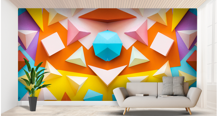 Wall Adhesive for Interior Decoration | Textile and Vinyl