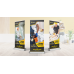 33x81 inches Deluxe Retractable Stand X4Signs 700x373