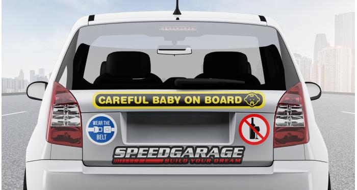 3M   Custom Bumper Stickers
